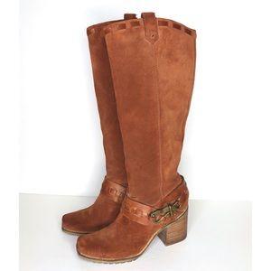 Jessica Simpson Lanasi tall brown boots